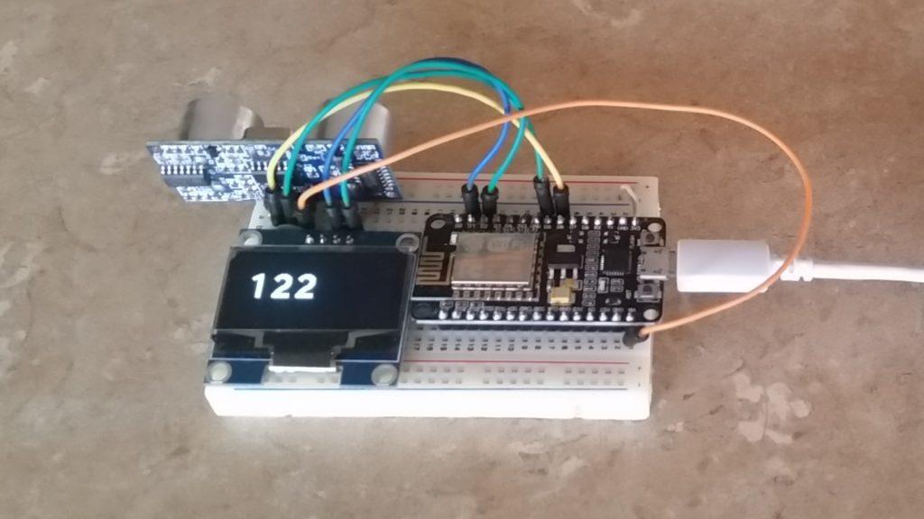 Distance Measurements with ESP8266   Ad Hoc Node