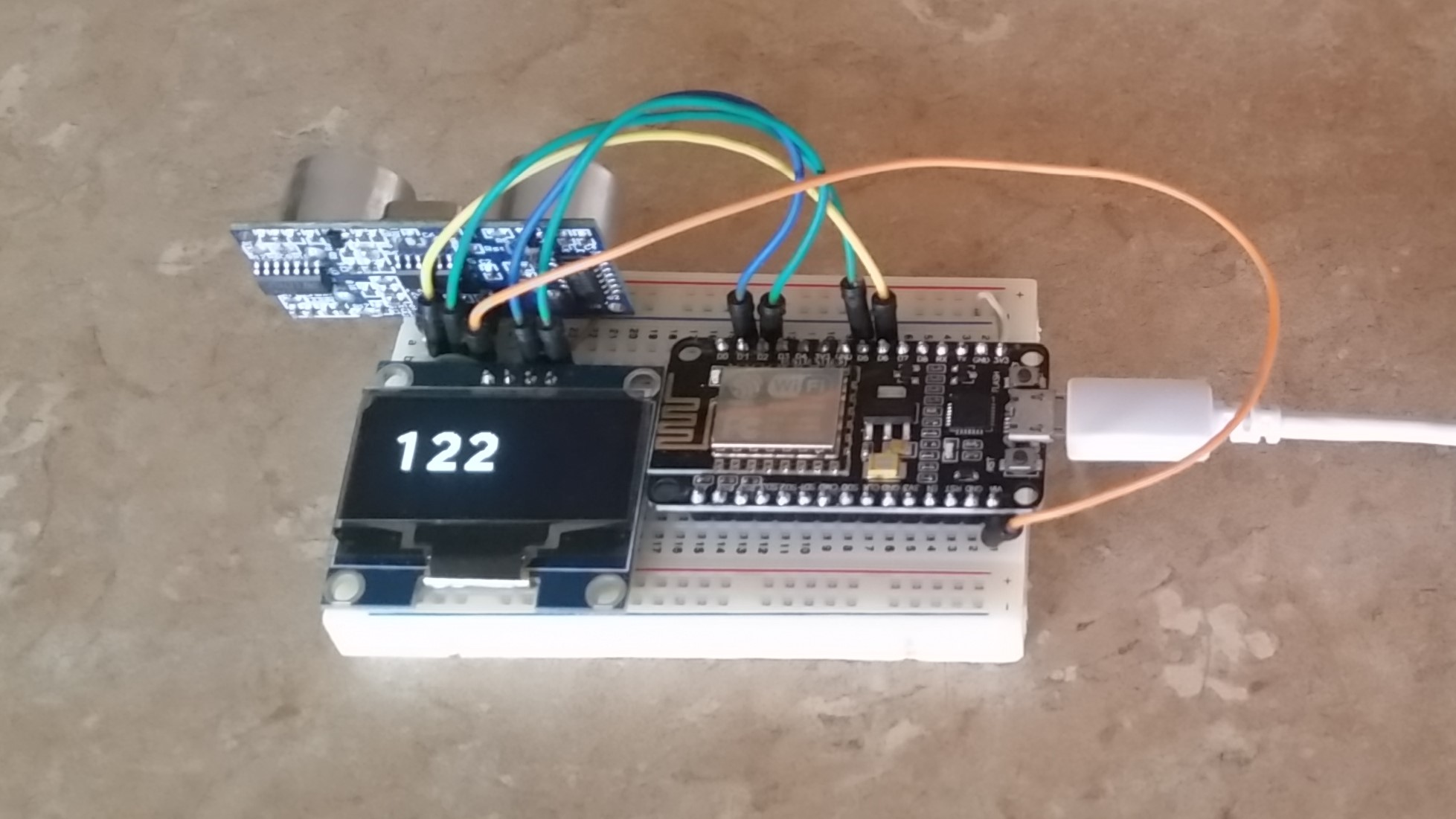 Distance Measurements with ESP8266 | Ad Hoc Node